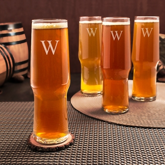 Personalized 16 oz. Craft Beer Pilsners(Set of 4)