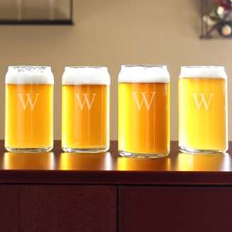 Personalized 16 oz. Craft Beer Can Glasses (Set of 4) - See more at: http://taylorstreetfavors.com/wedding-receptions/tabletop/flutes-glassware/personalized-16-oz-craft-beer-can-glasses-set-of-4/#sthash.lRtQtw9L.dpuf