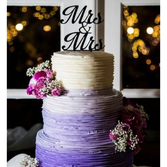LET THEM EAT CAKE!!  We love these cake toppers and cakes. These are perfect touch for your special day. Pro tip: Most custom toppers can be purchased for less than $20. Check out Etsy.