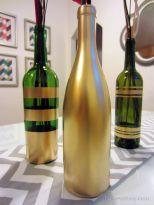 Gold Wine Bottles