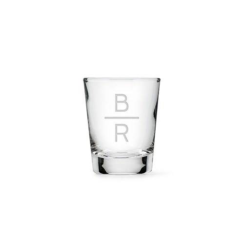 A fabulous start to a memorable night, these custom shot glasses are must haves.