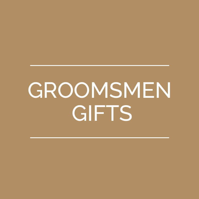 Check out our Groomsmen Gifts. Gifts that are beautifully made and built to last.